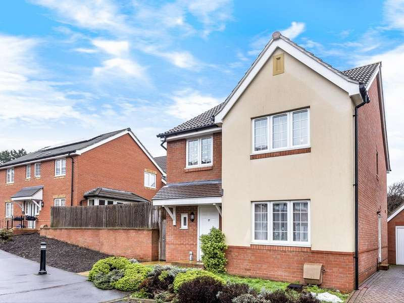 4 Bedrooms Detached House for sale in Whitley Rise, Reading, RG2
