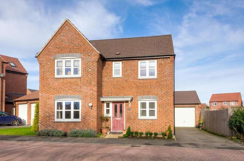 4 Bedrooms Detached House for sale in Palisade Close, Lutterworth