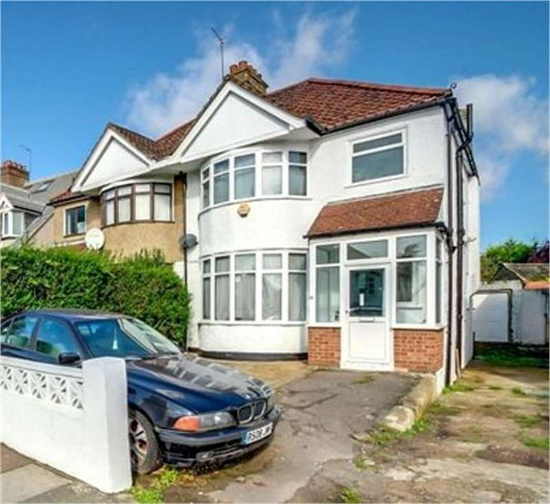 3 Bedrooms Semi Detached House for sale in Dollis Hill Lane, London, NW2