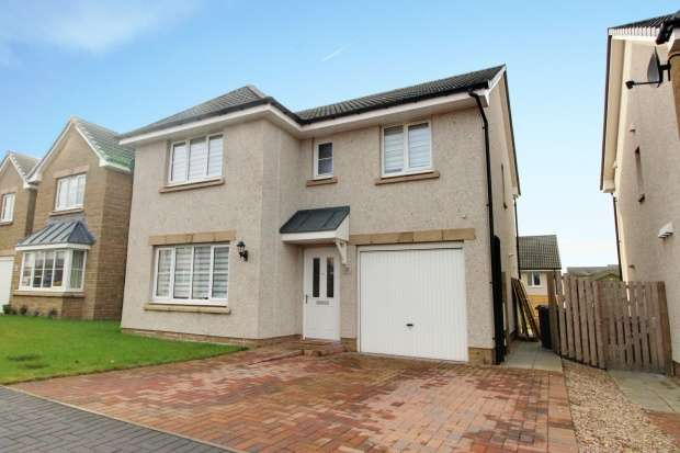 4 Bedrooms Detached House for sale in Buick Drive, Arbroath, Angus, DD11 5LF