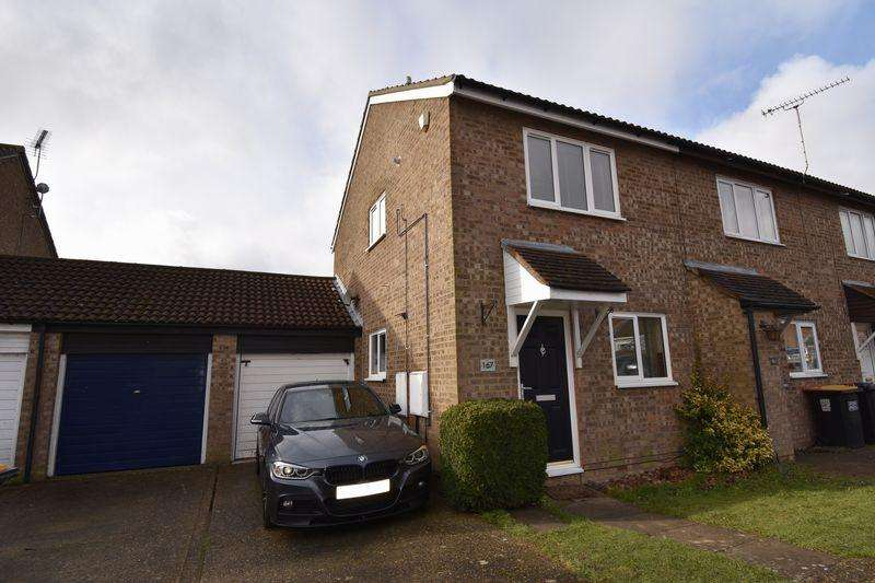 2 Bedrooms End Of Terrace House for sale in Conway Close, Houghton Regis