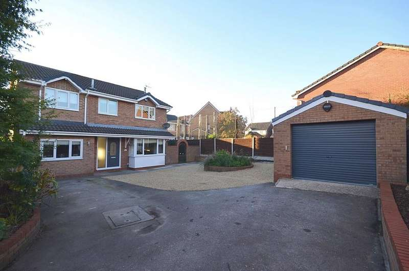4 Bedrooms Detached House for sale in Berryfold Way, Astley