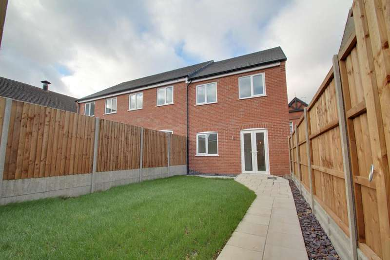 3 Bedrooms Semi Detached House for sale in Britannia Street, Shepshed