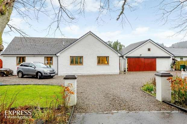 4 Bedrooms Detached House for sale in Carradale, Campbeltown, Argyll and Bute