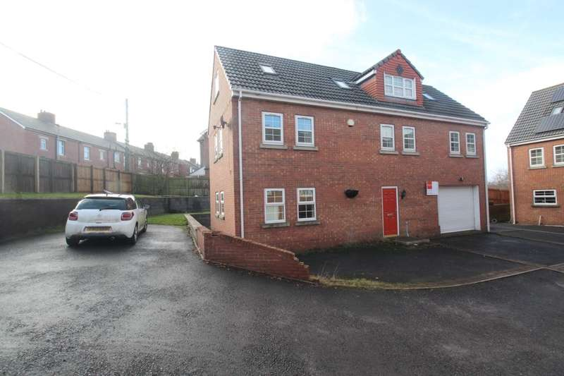 4 Bedrooms Detached House for sale in The Courtyard, Craghead, Stanley, DH9