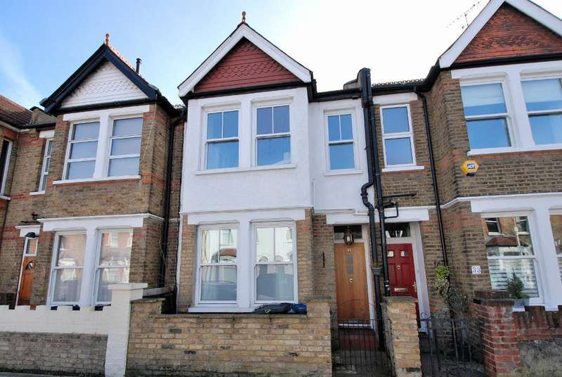 4 Bedrooms Terraced House for sale in Balfour Road, Ealing, London, W13 9TN