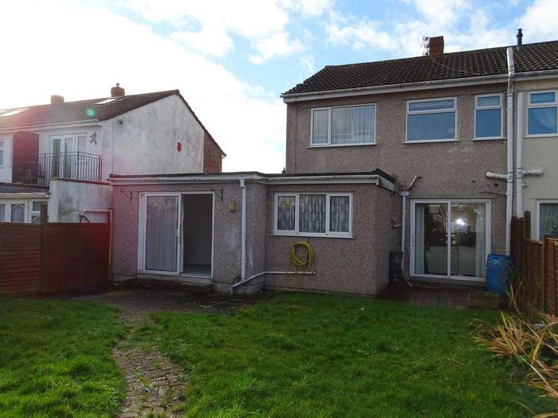 3 Bedrooms Semi Detached House for sale in Derricke Rd, Stockwood, Bristol BS14