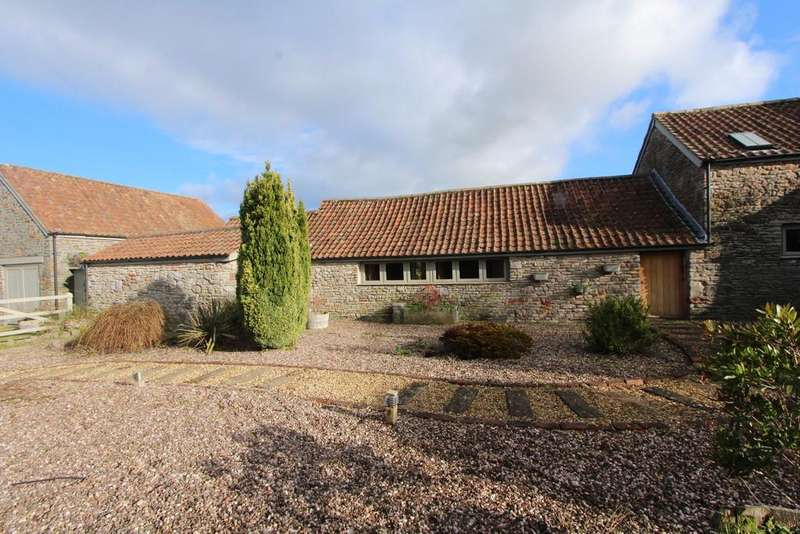4 Bedrooms Barn Conversion Character Property for sale in Barn conversion in superb Congresbury village location