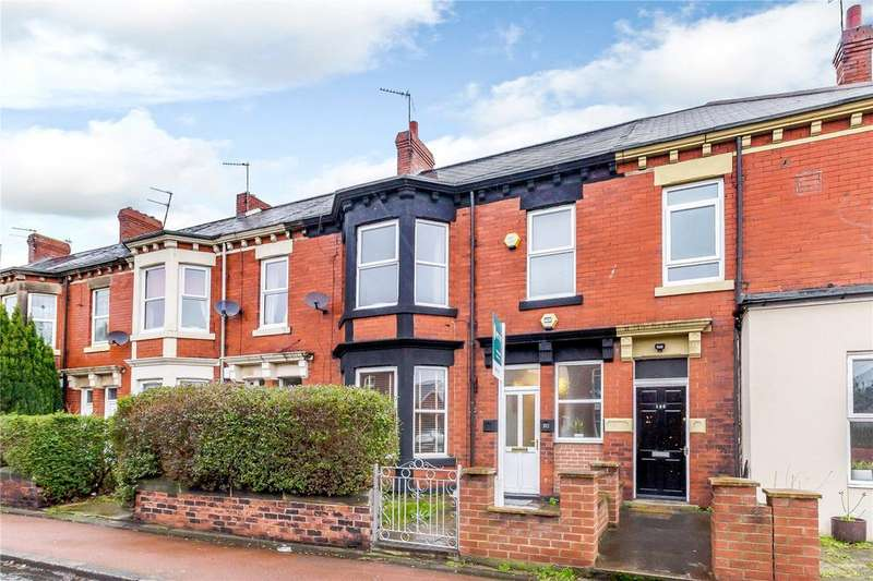 4 Bedrooms Terraced House for sale in Rothbury Terrace, Heaton, Newcastle upon Tyne, Tyne And Wear