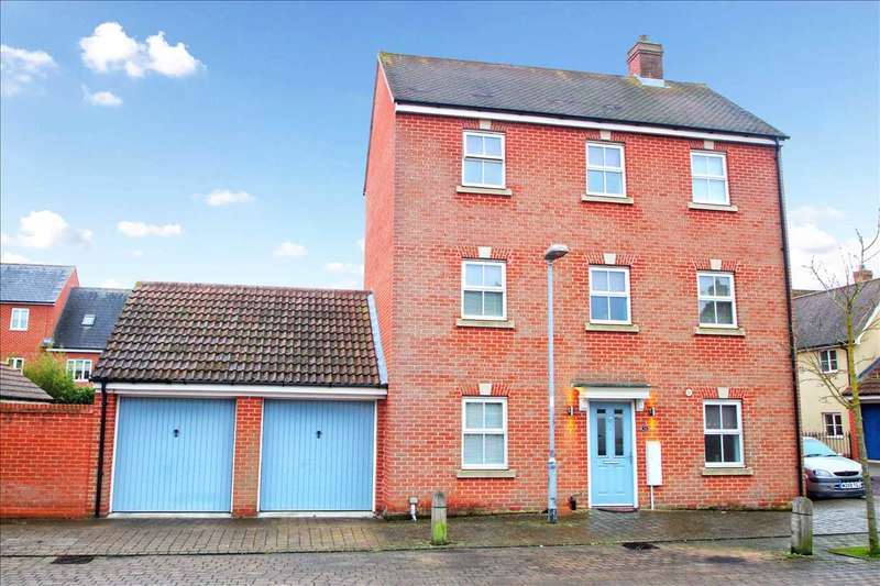 4 Bedrooms Detached House for sale in John Mace Road, Colchester