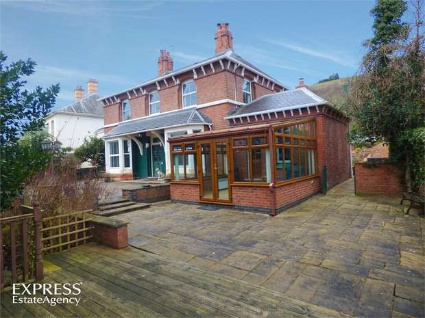 4 Bedrooms Detached House for sale in Milford Road, Newtown, Powys