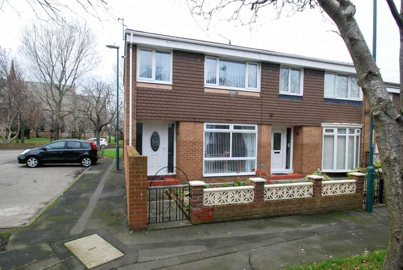 3 Bedrooms Terraced House for sale in Agricola Court,South Shields