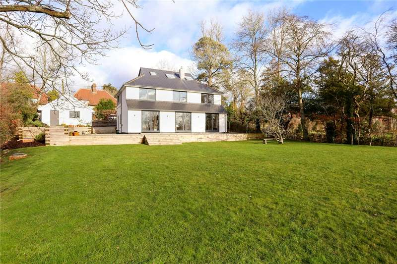 5 Bedrooms Detached House for sale in Church Road, Steep, Petersfield, Hampshire, GU32
