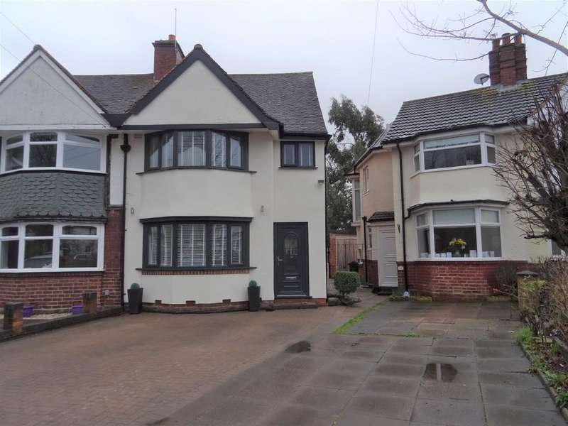 3 Bedrooms Semi Detached House for sale in Homecroft Road, Yardley