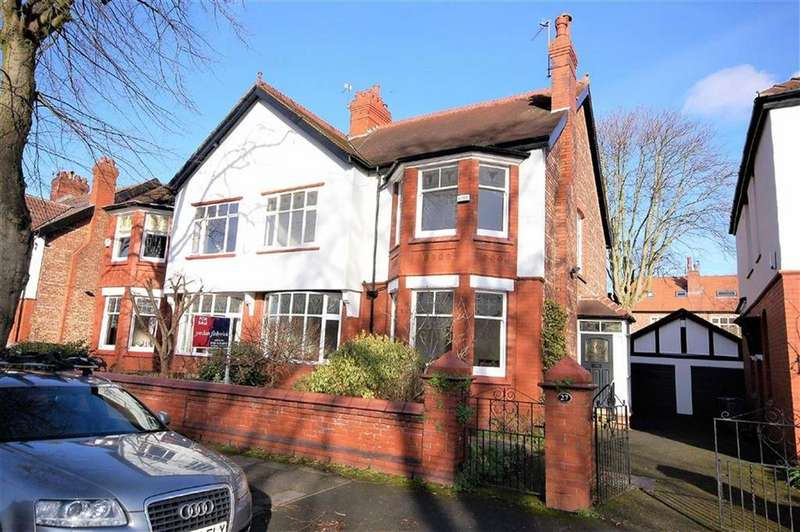 4 Bedrooms Semi Detached House for sale in Danesmoor Road, Didsbury, Manchester, M20
