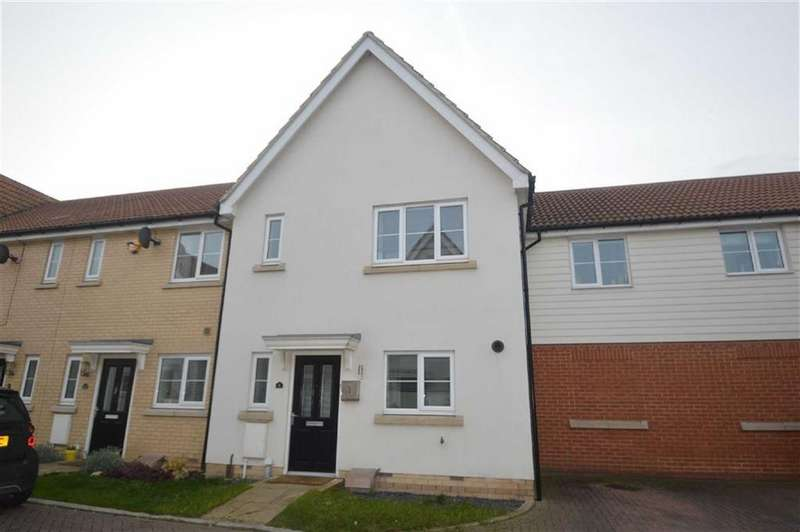 3 Bedrooms Terraced House for sale in Liddell Drive, Basildon, Essex