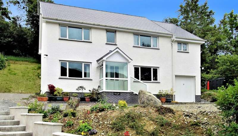 5 Bedrooms Detached House for sale in Old Goginan, Aberystwyth