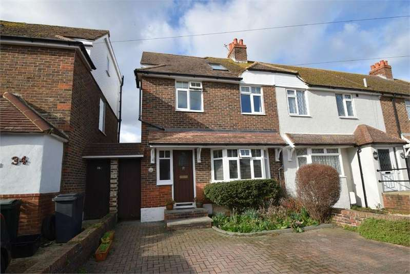 3 Bedrooms End Of Terrace House for sale in Queens Road, St Anthony's, East Sussex