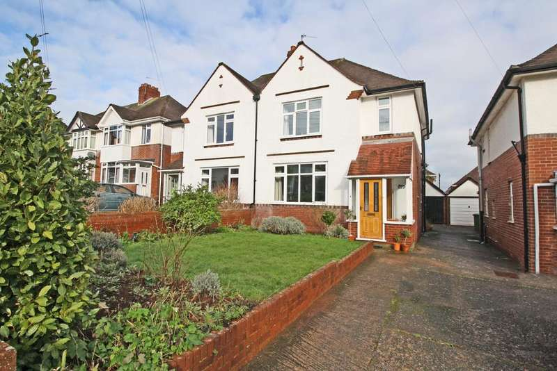 3 Bedrooms Semi Detached House for sale in Heavitree, Exeter