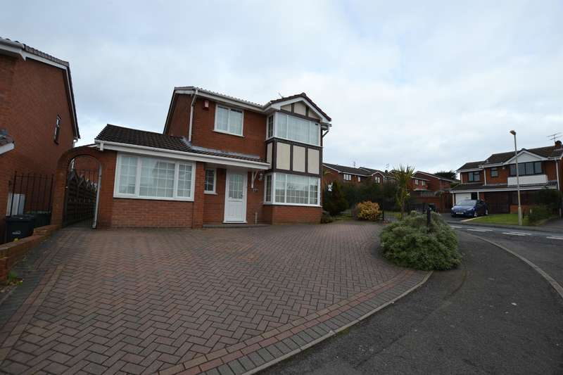 5 Bedrooms Detached House for sale in Ludlow Way, Dudley, DY1 2SU