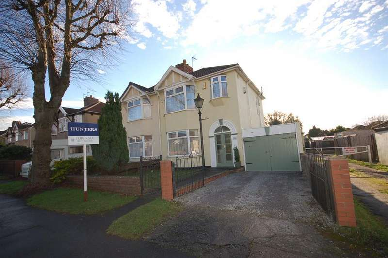 3 Bedrooms Semi Detached House for sale in Ingleside Road, Kingswood, Bristol, BS15 1JD