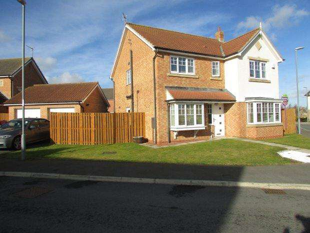 4 Bedrooms Detached House for sale in WEYBOURNE LEA, EAST SHORE VILLAGE, SEAHAM DISTRICT