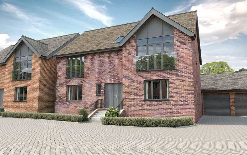 5 Bedrooms Detached House for sale in Hampton Gate, Solihull