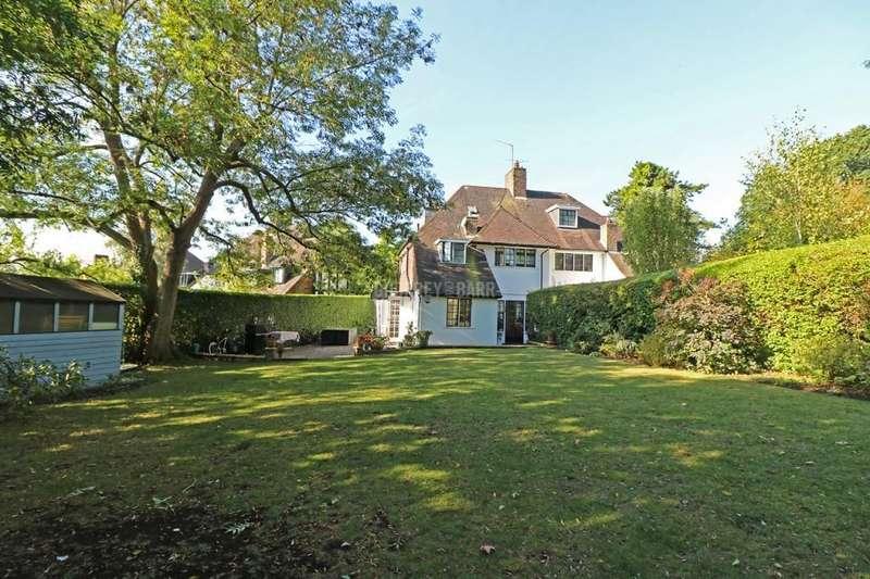 4 Bedrooms Semi Detached House for sale in Cornwood Close, Hampstead Garden Suburb