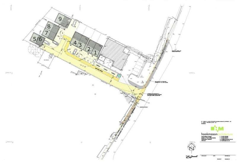 Plot Commercial for sale in Central Park, Kingstone, Hereford