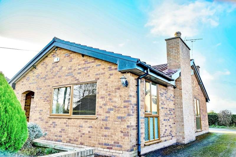 3 Bedrooms Detached Bungalow for sale in Rosemary Lane, Burton,Rossett, Wrexham, LL12
