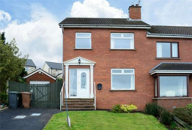 3 Bedrooms Semi Detached House for sale in Jubilee Heights, Dromore, County Down