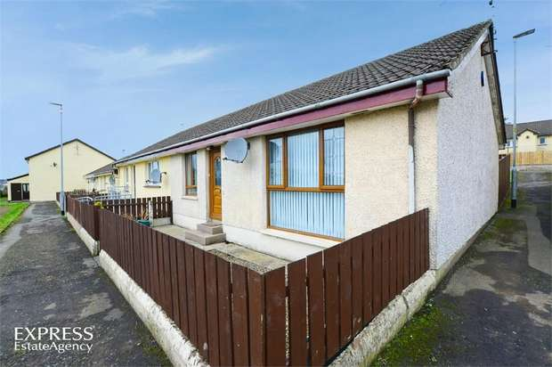2 Bedrooms Terraced Bungalow for sale in Meganlis Park, Dromore, County Down