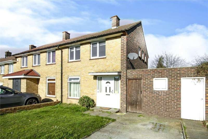 2 Bedrooms End Of Terrace House for sale in Lily Hill Road, Bracknell, Berkshire, RG12