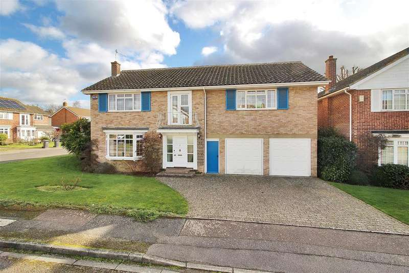 5 Bedrooms Detached House for sale in Stacey Road, Tonbridge