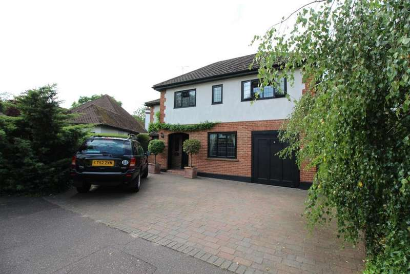 4 Bedrooms Detached House for sale in Silver Birch Avenue, Epping, CM16