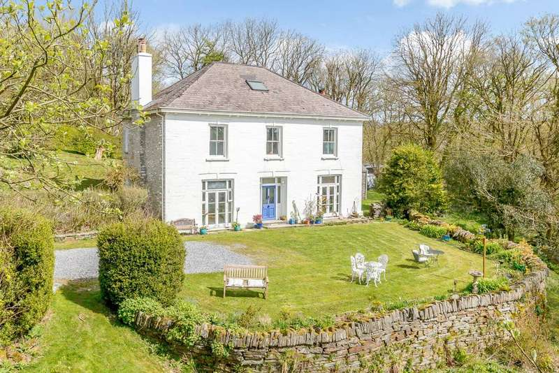 4 Bedrooms Detached House for sale in Danderwen House, Llangolman, Nr Clynderwen, Pembrokeshire, SA66