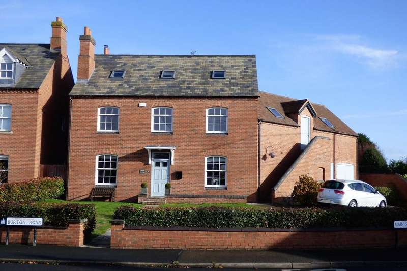 6 Bedrooms Detached House for sale in Burton Road, Rosliston
