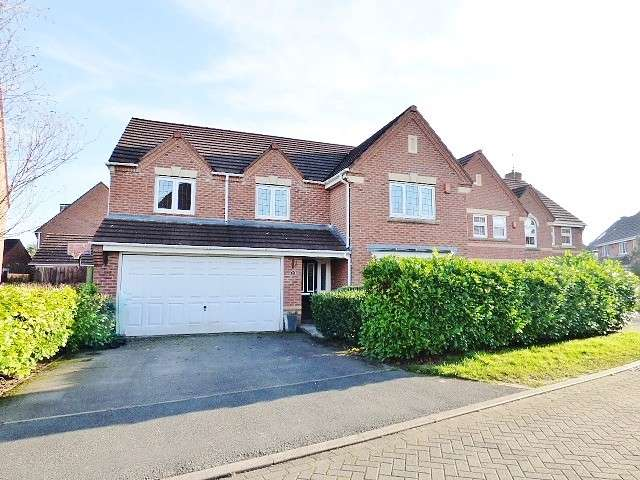 5 Bedrooms Detached House for sale in Montana Close, Great Sankey, Warrington
