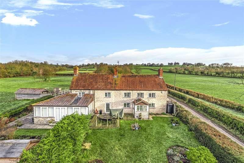 4 Bedrooms Detached House for sale in Parbrook, Glastonbury, Somerset, BA6