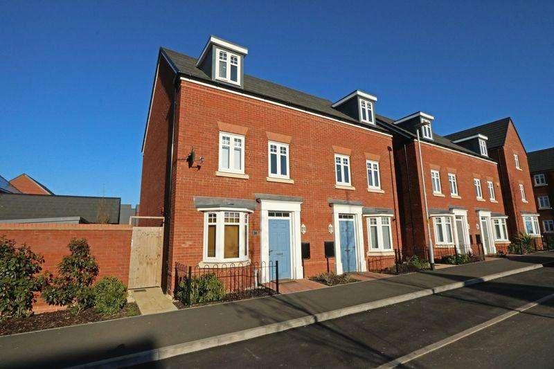 4 Bedrooms Semi Detached House for sale in Cicero Crescent, Fairfields, Milton Keynes
