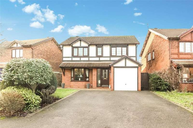4 Bedrooms Detached House for sale in Beaver Way, Woodley, Reading, Berkshire, RG5