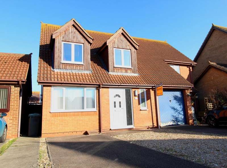 3 Bedrooms Semi Detached House for sale in Kingfisher Close, Sandy SG19