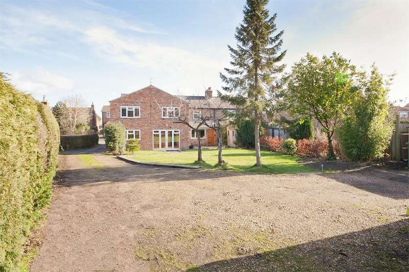 5 Bedrooms Semi Detached House for sale in Main Street, Sutton on Derwent, York