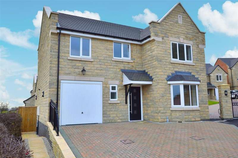 4 Bedrooms Detached House for sale in The Keep, Tarry Fields Court, Crich, Derbyshire