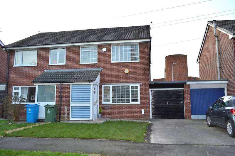 3 Bedrooms Semi Detached House for sale in Grampian Close, Chadderton, Oldham, OL9 8PT
