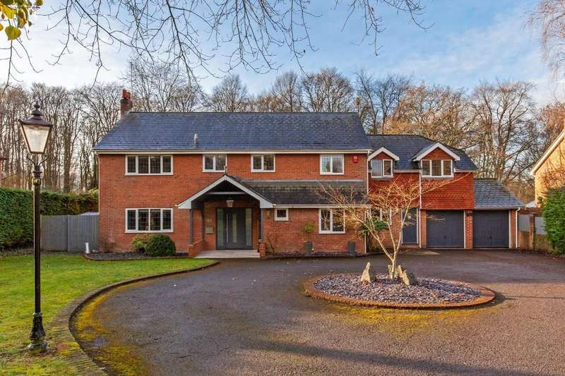 6 Bedrooms Detached House for sale in Grove Road, Shawford, Winchester, SO21