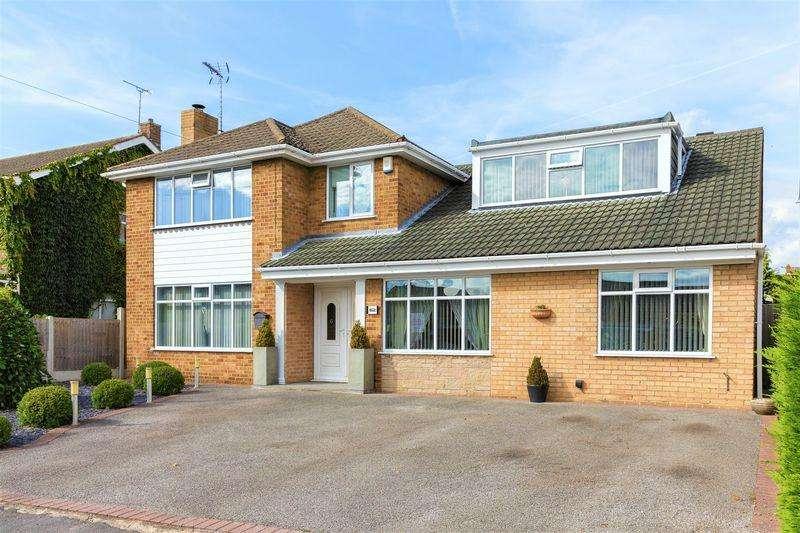 4 Bedrooms Detached House for sale in Greendale Avenue, Edwinstowe, Mansfield