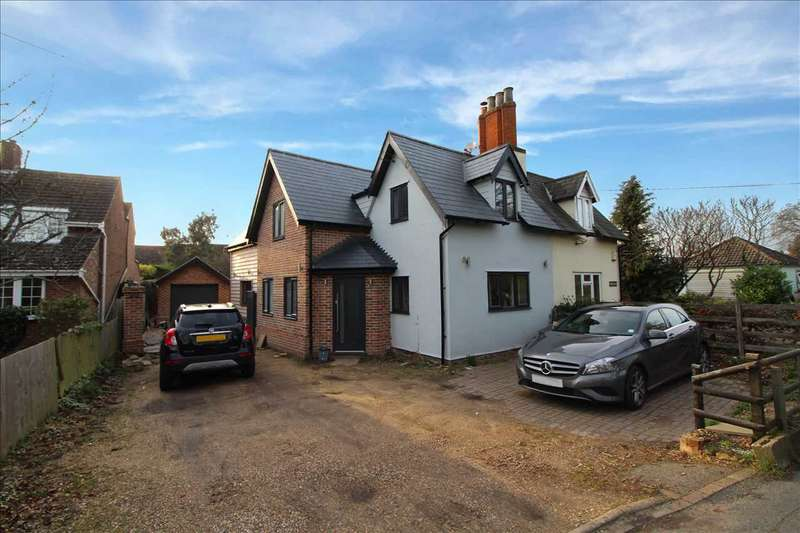 3 Bedrooms Semi Detached House for sale in Akaroa, Mersea Road, Blackheath, Colchester