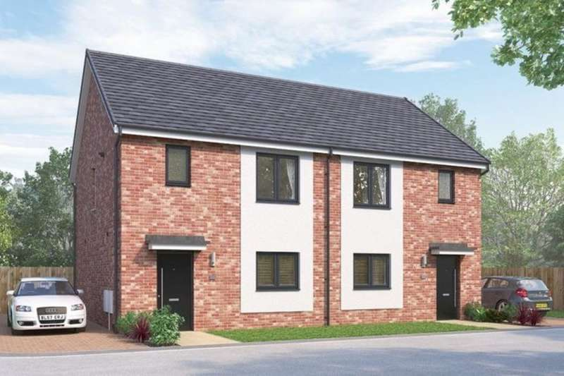 3 Bedrooms Semi Detached House for sale in Barley Gate Quarter Vigo Lane, Chester Le Street, DH3