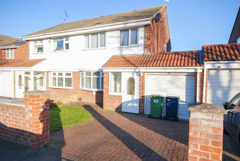 3 Bedrooms Semi Detached House for sale in Shincliffe Avenue, Wear View Estate